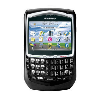 Celular Blackberry 8700 Single 2g 2mp Preto Vitrine 3