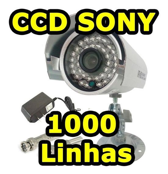 Camera Segurança Cftv 1000 Linhas Ccd Sony Noite Dia 36 Leds