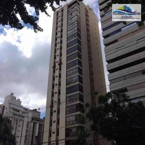 Apartamento Alto Padrão C/ 4 Dormitórios 3 Suítes, Sala 2 Ambientes, Varanda, Cozinha Planejada, 2 Garagem - Cambuí - Ap0819