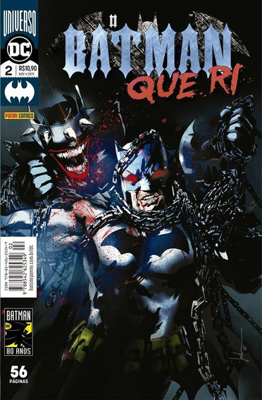 O Batman Que Ri: Universo Dc - 2