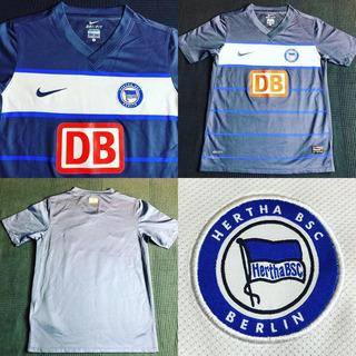 Camisa Hertha Berlin 2010-2011 Home Tam M Infantil (59x42)