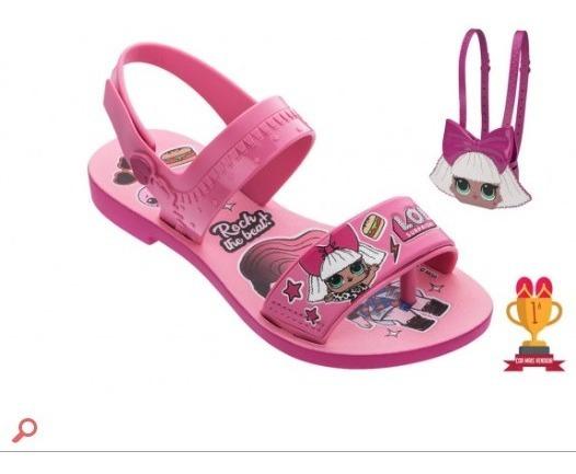 Sandália Infantil Lol Diva Bag