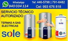 Servicio Tecnico De Termas Sole Termas A Gas 940034114