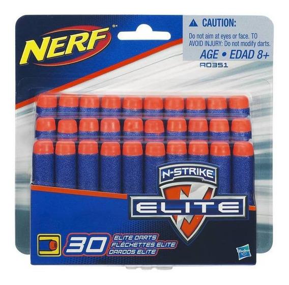 Refil Nerf Elite 30 Dardos - Hasbro A0351