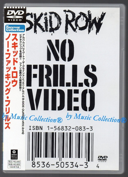 Skid Row - No Frills Video, Import