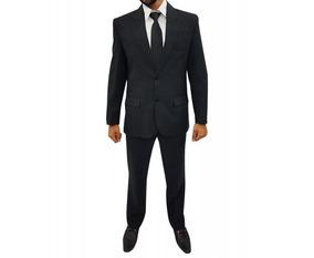 Terno Wl Micro Slim Masculino Calca Blaser Adulto Te011