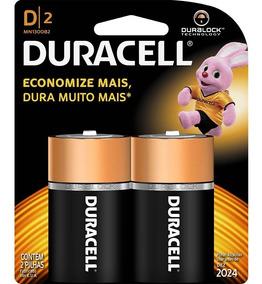 Pilhas Duracell Alcalinas D2 Grande Com 02 Unidades