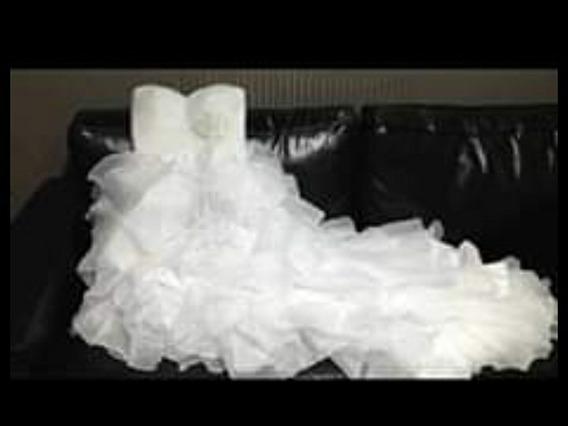 Hermoso Vestido De Novia Talla L