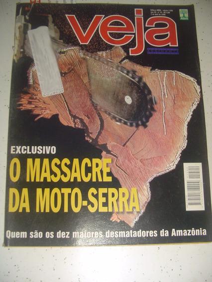 Revista Veja 1592 Amazonia Santo São Luiz Itabaianinha 1999