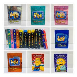 Los Simpsons Temporadas 1 A 13 Completas Lote Dvds