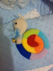 Amigorumi Caracol Sonaja Crochet Didactico