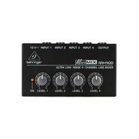 Mixer Behringer Mx400 Micromix 110v Com Fonte