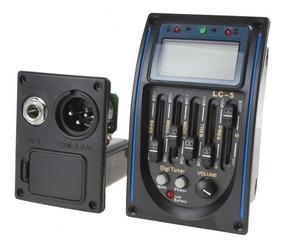 2 Unidades Captador De Violão Com Afinador Lc5