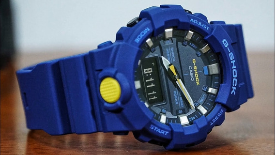Casio G-shock Ga-800sc-2a Blue