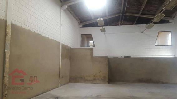 Galpão Para Alugar, 400 M² Por R$ 6.500,00/mês - Pedras - Cotia/sp - Ga0066