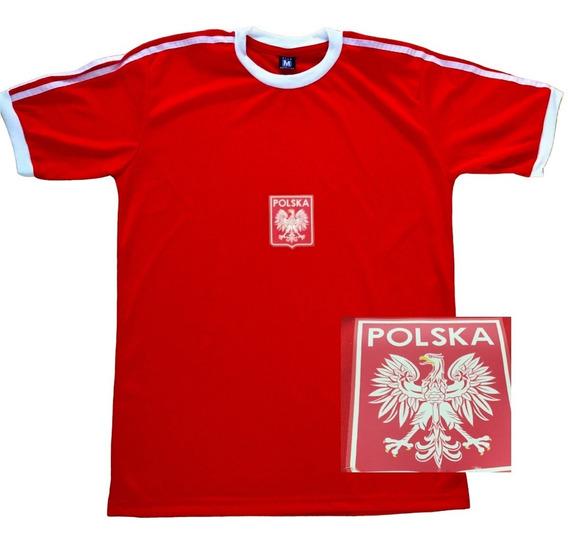 Camiseta Seleccion Polonia Mundial 1978 Retro Roja