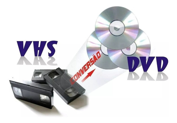 Conversão Vhs Para Dvd - Leia
