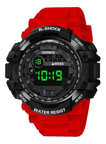 Relógio Digital Multifunções Honhx Sports Electronic Kids St