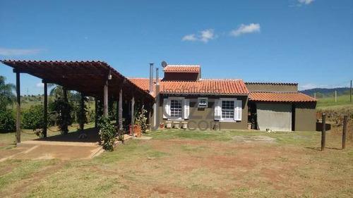 Chácara Com 3 Dormitórios À Venda, 24000 M² Por R$ 890.000,00 - Jardim São Miguel - Bragança Paulista/sp - Ch0490