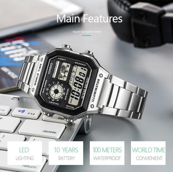 Relógio Casio Digital Original Ae 1200whd A Pronta Entrega