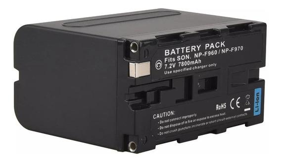 Bateria Np- F970 Iluminador Led Yn900 Yn600 Np-f970 Longa
