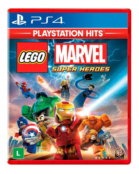 Lego Marvel - Super Heroes Hits - Ps4