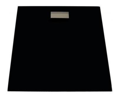 Báscula Electrónica De Baño Negro Antiderrapante Silverline
