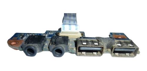 Placa 2 Usb + Jack De Sonido Para Notebook Acer Aspire 4551