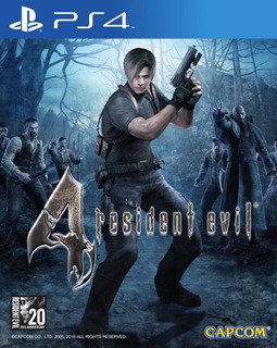 Resident Evil 4 Hd - Playstation 4 Standard Edition Ps4