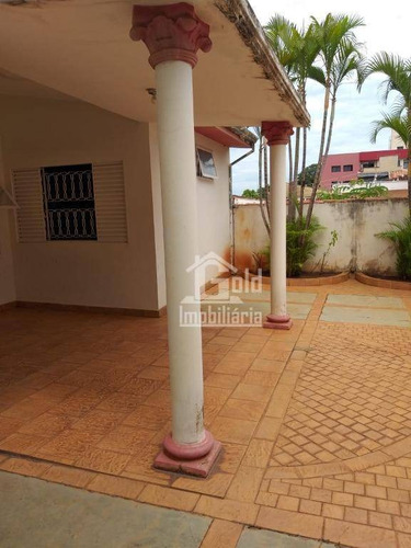 Casa Fundo Com 2 Dormitórios Para Alugar, 100 M² Por R$ 1.300/mês - Jardim Paulista - Ribeirão Preto/sp - Ca1886
