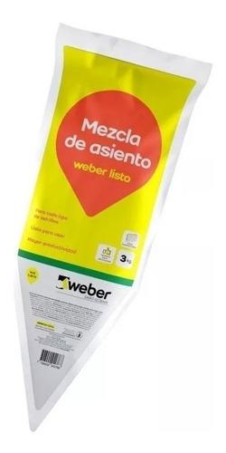 Weber Listo X 3kg Para Bloques Ladrillos Mejoramos Ofertas