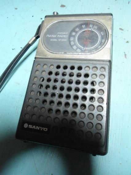 Rádio Sanyo Rp5040 Para Reparo Ou Peças
