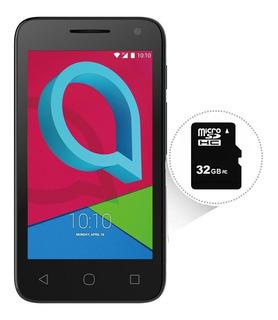 Smartphone Alcatel Pixi4 8gb Câmera 8mp + Sd 32gb Com Nf