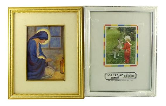 Kit 1 Quadro De Nossa Senhora 1 Porta Retrato 20x25 Cm B6117