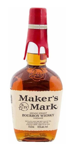 Whisky Maker Mark 750cc Bourbon Importado Estados Unidos