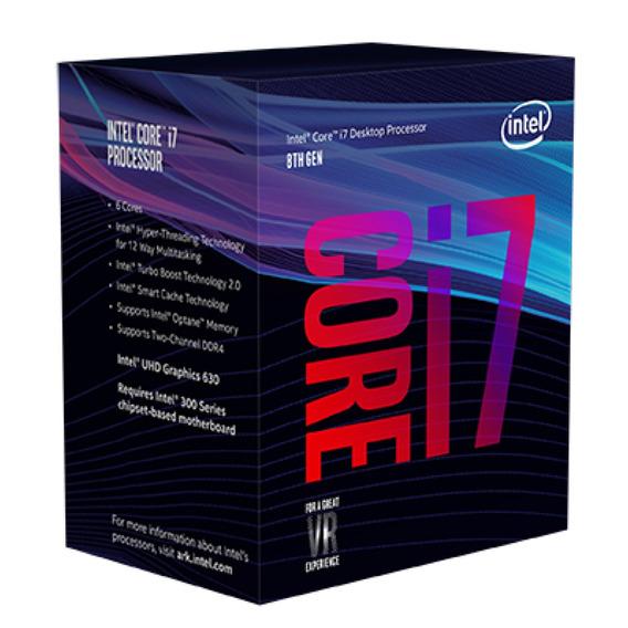 Kit Core I7 8700 + 8gb Ddr4 Hyper-x + H310m 8º Geração Intel