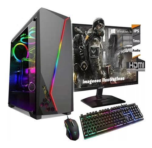 Imagen 1 de 3 de Computadoras Gamer Intel I5 9na Gen 8gb Ddr4 1tb Rx 550 4gb