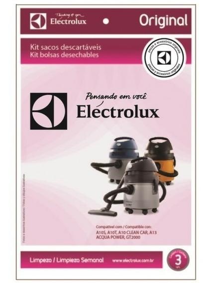 Kit 3 Un Sacos Electrolux Aspirador Gt22p Sipro Z220