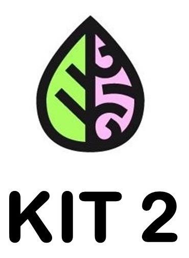 Kit 2 - Flowermind Co. [ 1 Litro + 125g ]