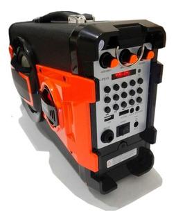 Cabina Portátil Recargable 400watts, Bluetooth, Usb, Fm, Sd