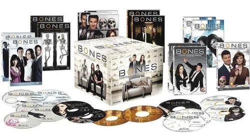 Imagem 1 de 1 de Box Coleção Dvd Bones 1ª A 7ª Temporada - 39 Dvds