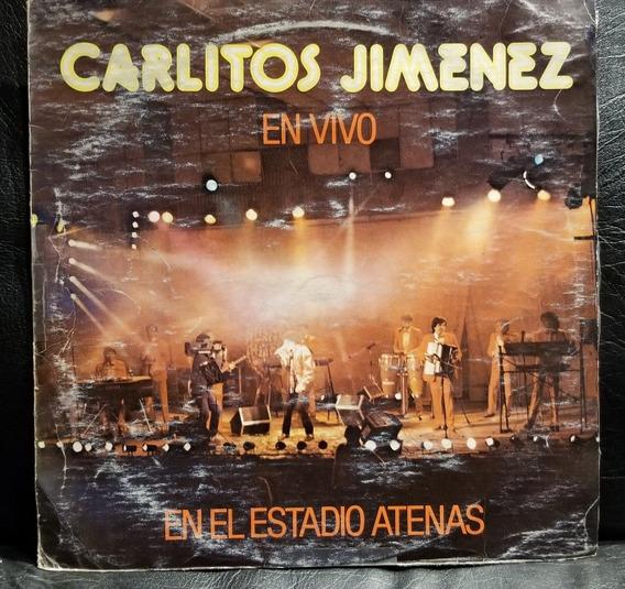 Carlitos La Mona Jiménez- En Vivo Estadio Atenas (vinilo)