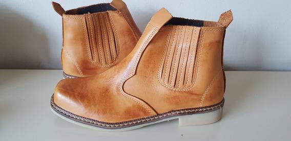 Botina Country Rodeio Sapato Bota 100% Couro Unissex