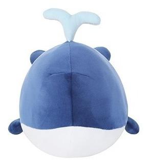 Baleia Azul De Pelúcia - Miniso