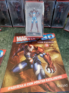 Marvel 3d 19 Iron Patriot Salvat