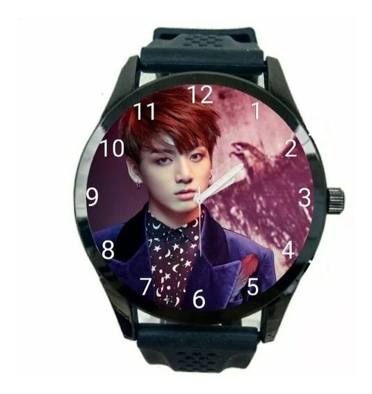 Relogio Personalizado Jeon Jungkook Unissex Bts K Pop T1222