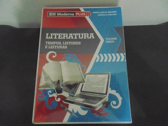 Livro Moderna Plus Literatura