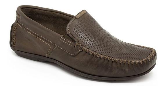 Sapato Mocassim Pegada 148936 Marrom