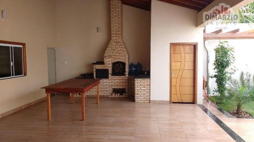 Casa Com 3 Dormitórios À Venda, 185 M² Por R$ 700.000,00 - Jardim Souza Queiroz - Santa Bárbara D'oeste/sp - Ca1019