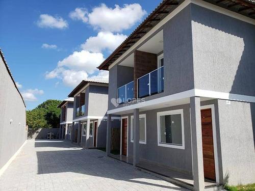 Imagem 1 de 16 de Casa Com 2 Dormitórios À Venda, 72 M² Por R$ 260.000 - Condado De Maricá - Maricá/rj - Ca15144